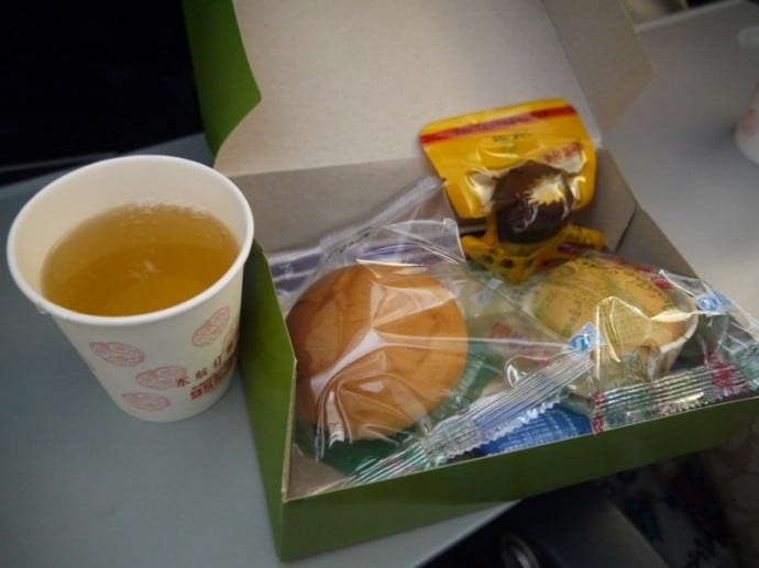 China Eastern Airlines Meal