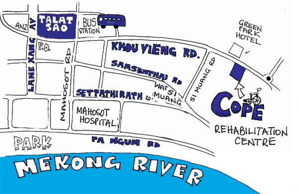 COPE Visitor Centre Map