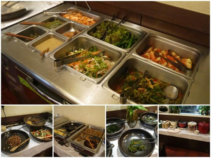 Vegetarian & Vegan Buffet At Han Gwa Chae, Insadong, Seoul