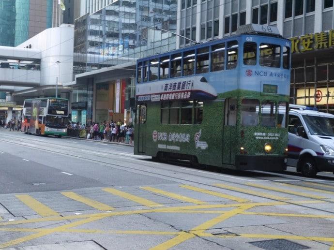 One Of Hong Kong's Historic Trams