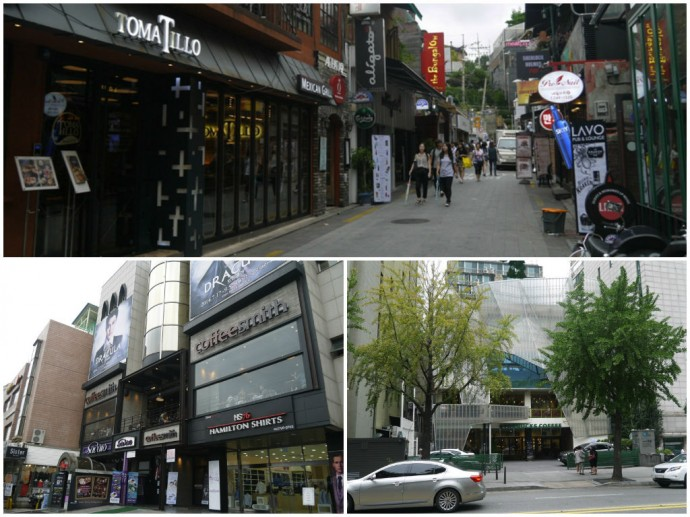 International Food & Drink In Itaewon, Seoul