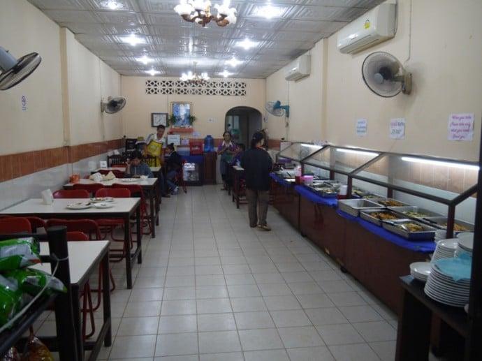 Khua Din Vegetarian Buffet, Vientiane