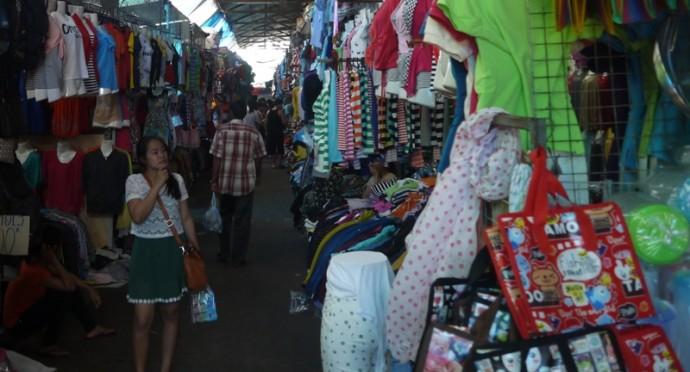 Khua Din Market, Vientiane, Laos