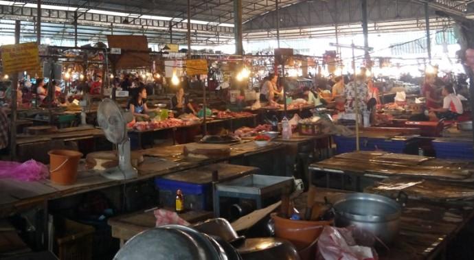Khua Din Market, Vientiane