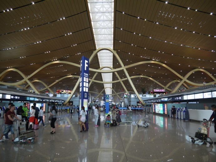Kunming Airport, China