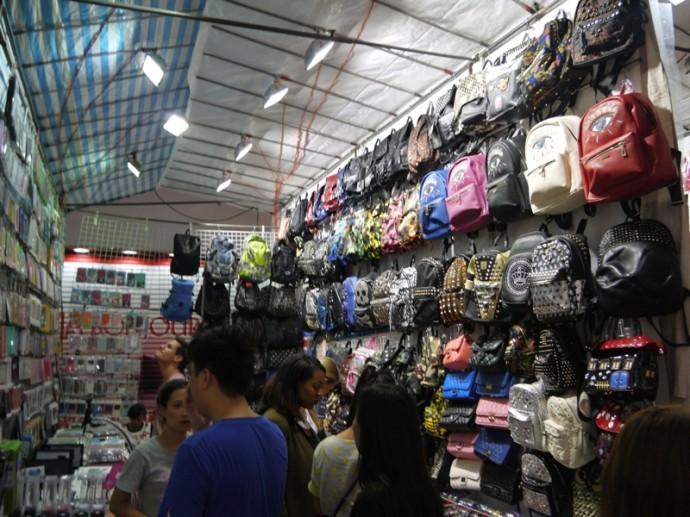 Stall At Mongkok Ladies Market, Kowloon, Hong Kong