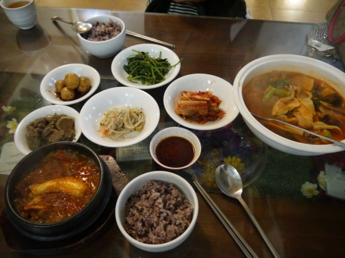 An Awesome Sunday Lunch At Oh Se Gae Hyang Vegetarian Restaurant In Insadong, Seoul