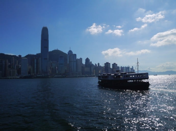Star Ferry Crossing Victoria Harbour