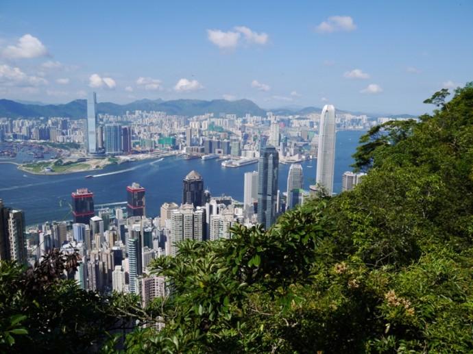View From Lugard Road, The Peak, Hong Kong