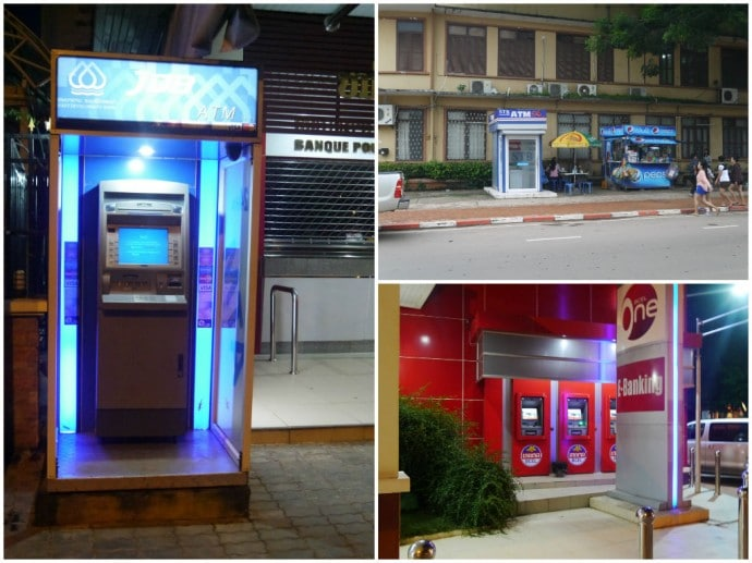 ATMs In Vientiane, Laos