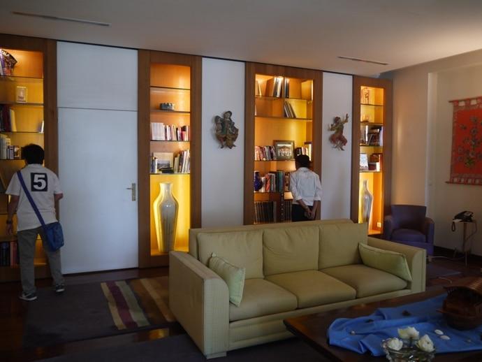 Sitting Room At French Ambassador's Residence In Bangkok