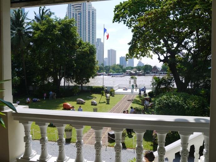 View From Balcony At French Ambassador's Residence, Bangkok