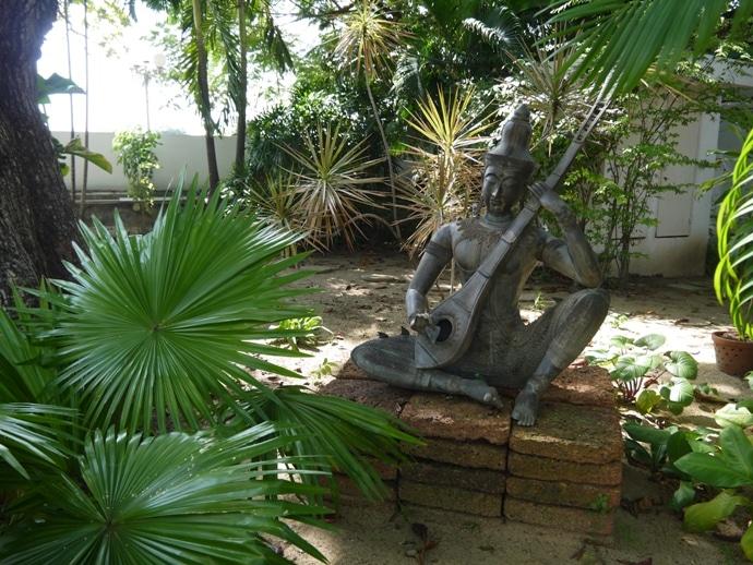Garden At French Ambassador's Residence In Bangkok