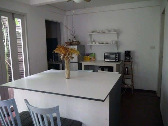 Kitchen At Littlest Guesthouse, Bangkok
