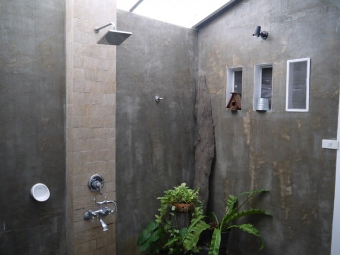 Bathroom At Littlest Guesthouse, Bangkok