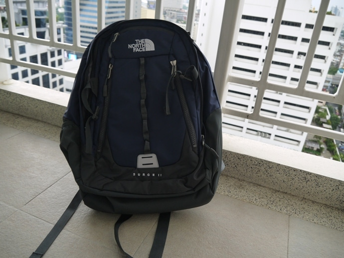 north face backpack 2014