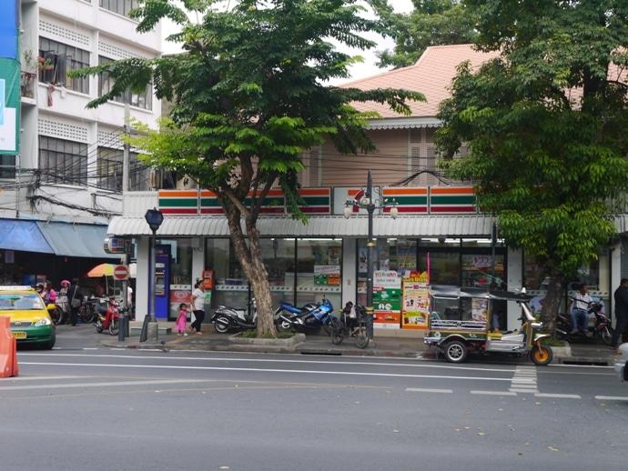 7-Eleven, Silom Road, Bangkok