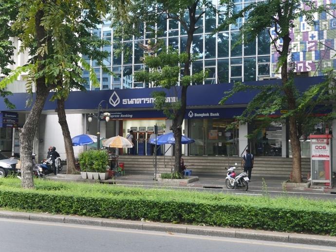 Bangkok Bank, Silom Road, Bangkok
