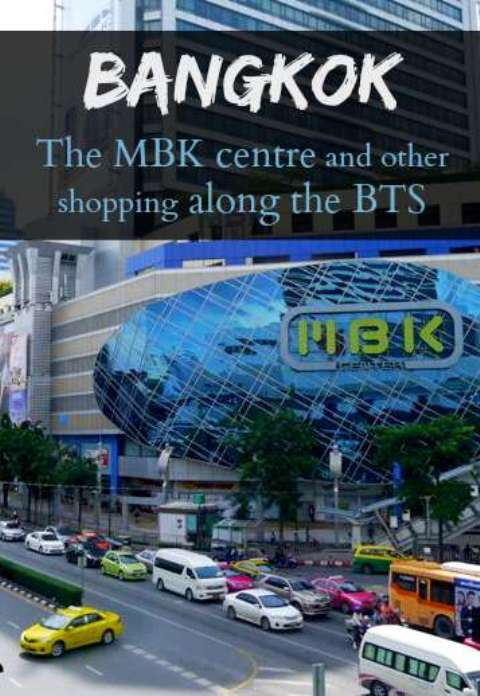 Bangkok's MBK Shopping Mall - Shopping Along The BTS, Thailand