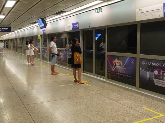 Silom MRT Station, Bangkok