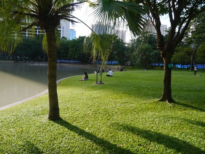Bangkok parks, Benjasiri Park