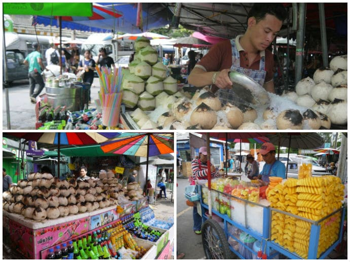Food & Drink At Jatujak Market, Bangkok