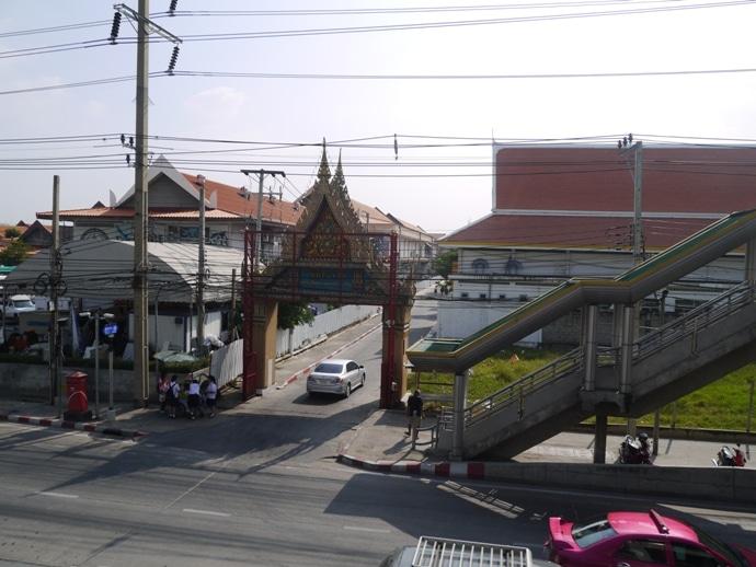 Entrance To Wat Pariwat (David Beckham Temple)
