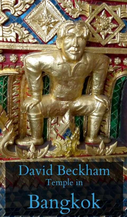 David Beckham Temple in Bangkok, Thailand