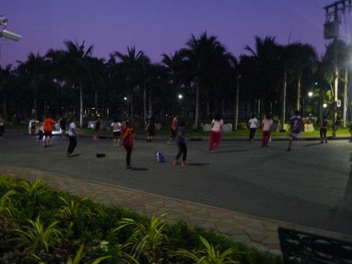 Evening Aerobics At Lumphini Park, Bangkok