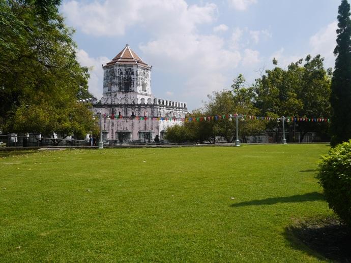 Bangkok parks, Santichai Prakarn Park