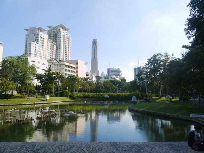 Bangkok parks, Santiphap Park (Peace Park)
