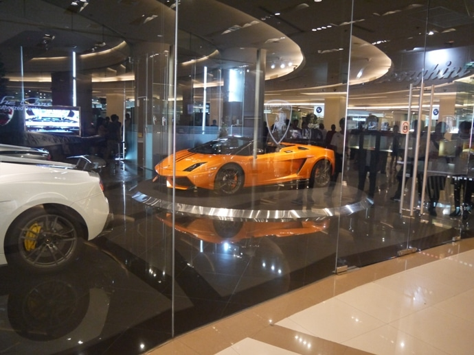 Lamborghini Showroom At Siam Paragon, Bangkok