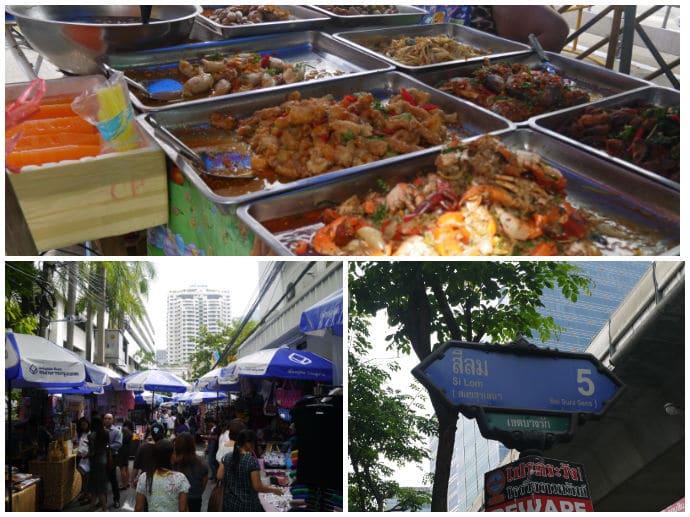 Lalai Sap Market, Silom Soi 5, Bangkok