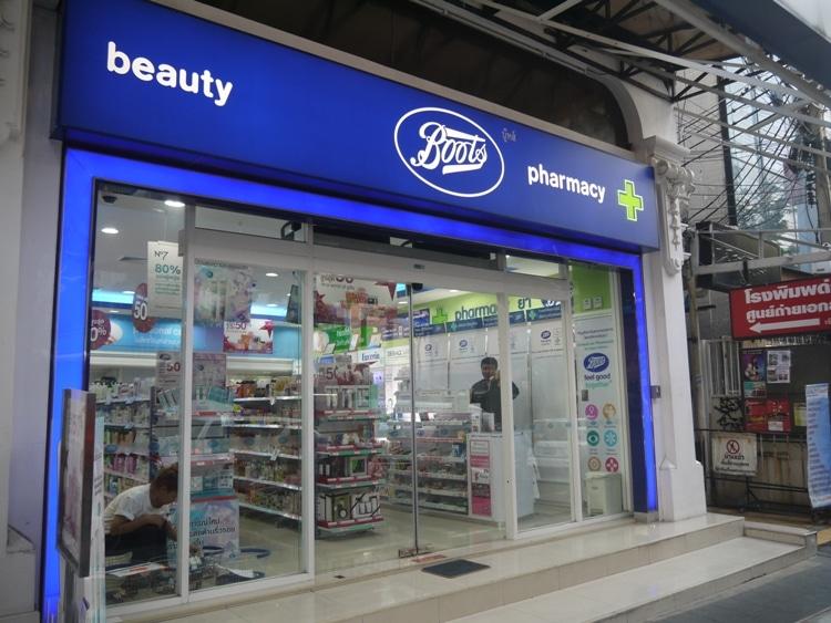 Boots Pharmacy, Bangkok