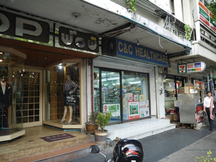 C&C Healthcare - An Independent Pharmacy In Silom, Bangkok