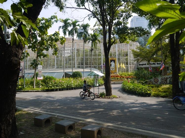 Butterfly House At Rot Fai Park, Bangkok