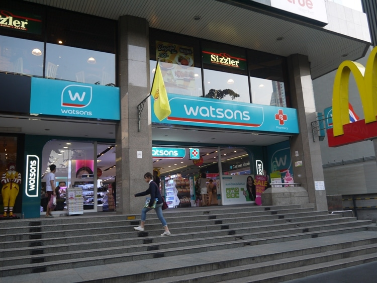 Watsons Pharmacy, Bangkok