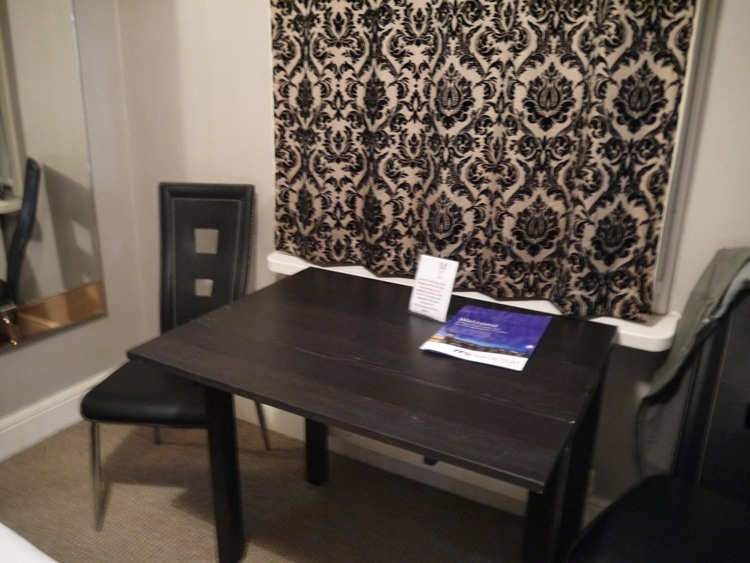 Large Table And Chairs At 73 Suites Apart Hotel, Bayswater, London