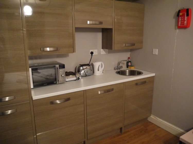 Kitchen Area At 73 Suites Apart Hotel, Bayswater, London