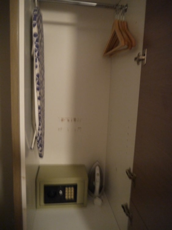 Cupboard/Wardrobe At 73 Suites Apart Hotel, Bayswater, London