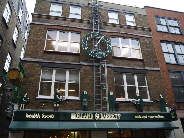 Covent Garden Water Clock, London