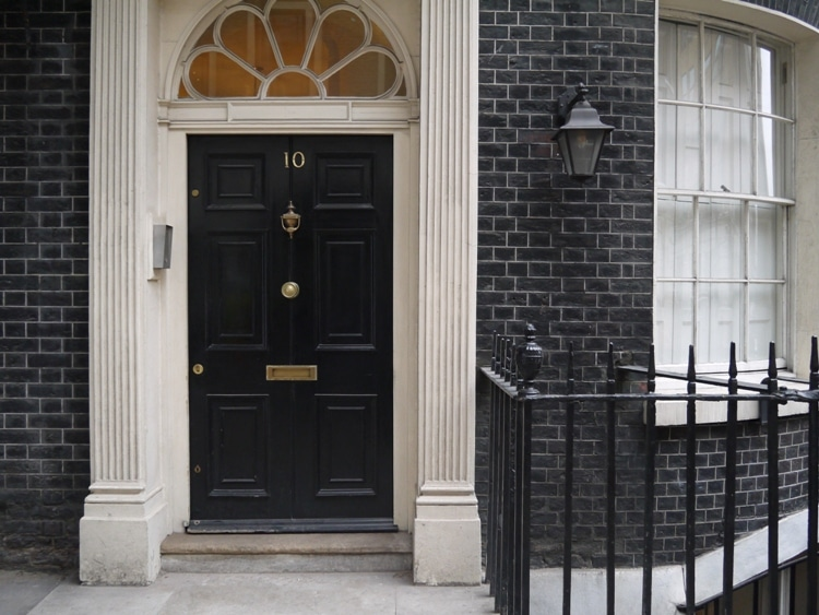 Not Number 10 Downing Street, London