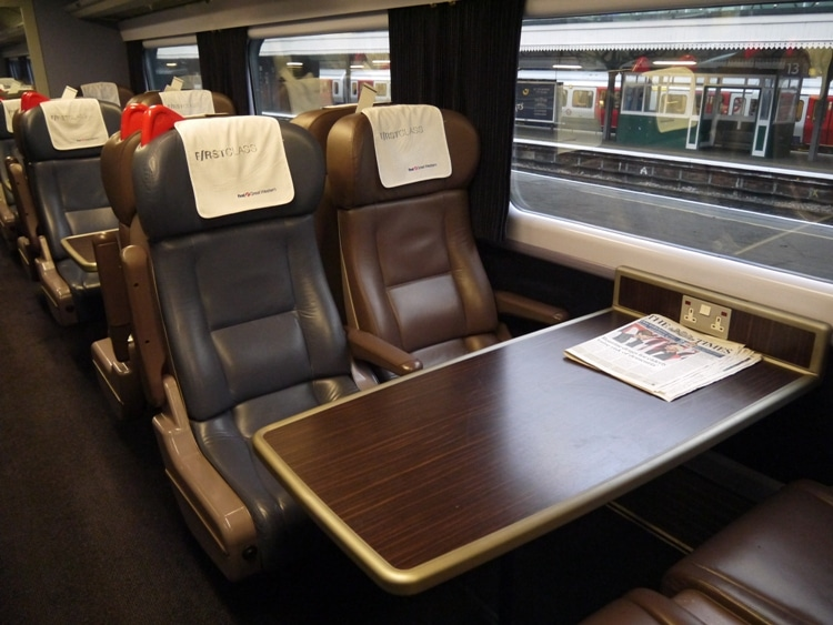 Very Comfortable Seats & Free Newspaper - First Great Western