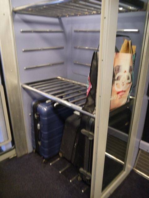 Luggage Rack On Our First Great Western London To Swansea Train