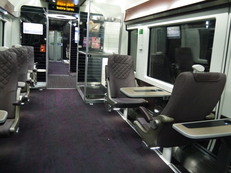 Heathrow Express Business First Carriage