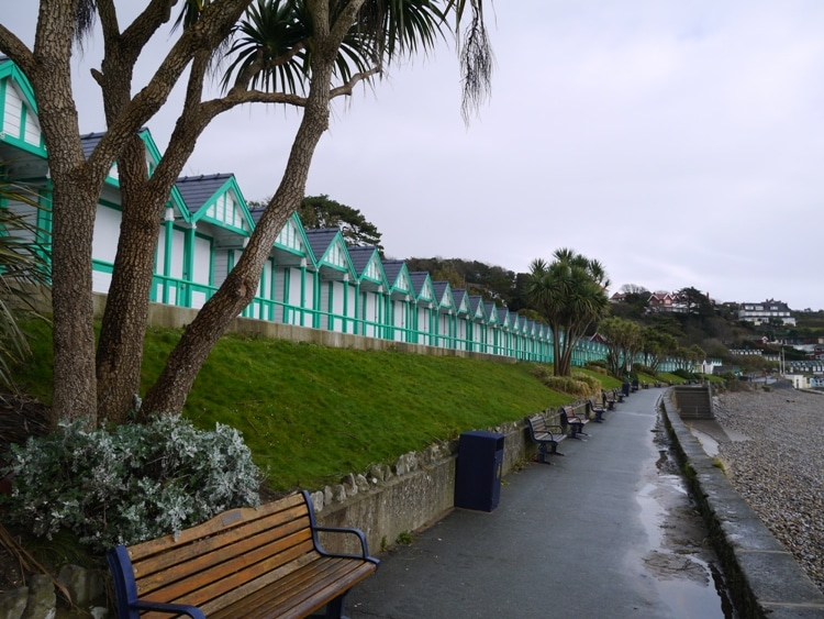 Langland Bay Huts, Gower, South Wales