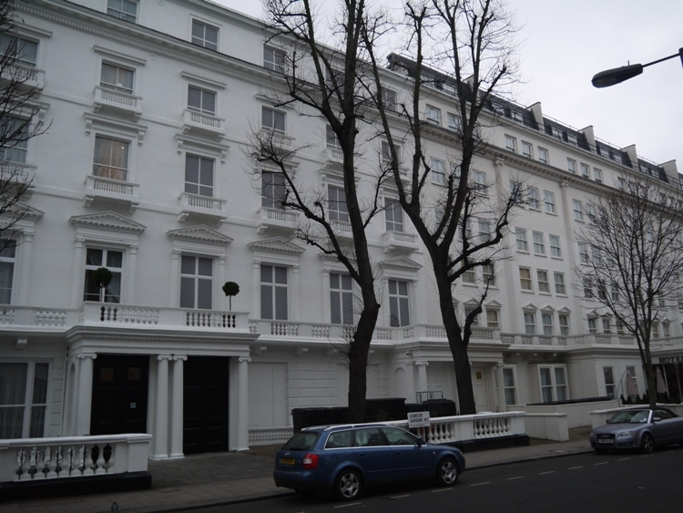 23-24 Leinster Gardens - Look Closely At The Windows