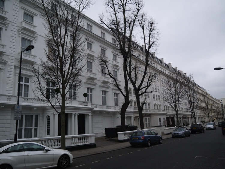 Leinster Gardens, Bayswater, London