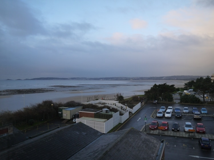 View From Our Room At Swansea's Marriott Hotel
