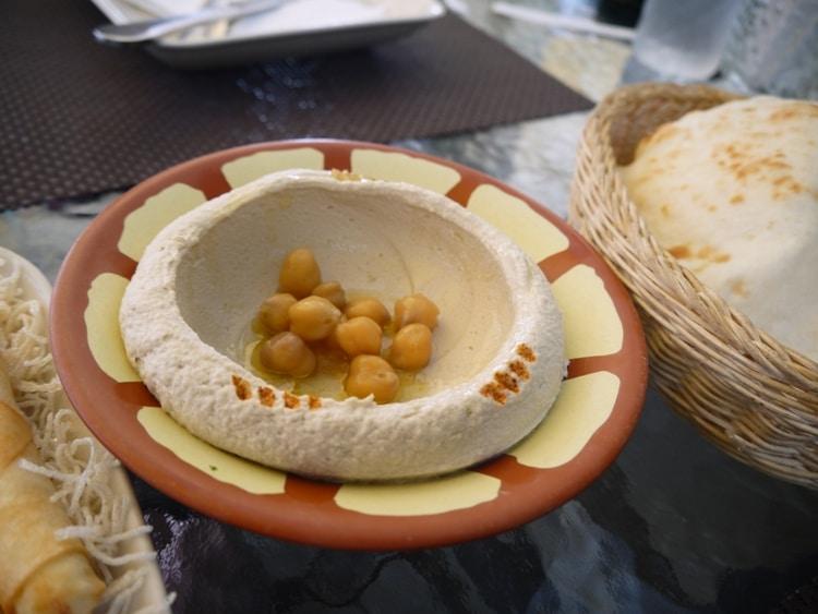 Yummy Hummus At Nadimos, Bangkok